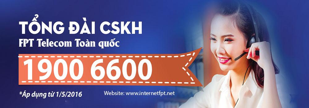 Tổng đài 19006600 là số chăm sóc khách hàng của FPT Telecom